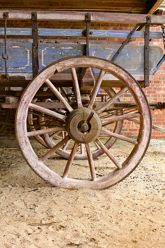 Wagon wheels | by Ness Brady