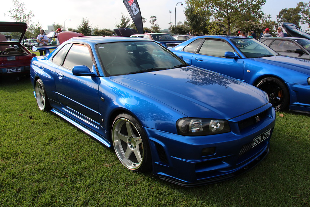 Wonderful ... 1999 Nissan Skyline R34 GTR | By Sicnag