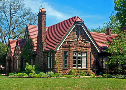 Tudor Revival House Berkeley Place Ft Worth One Of