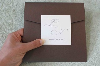 invite front | by Lorenna Buck