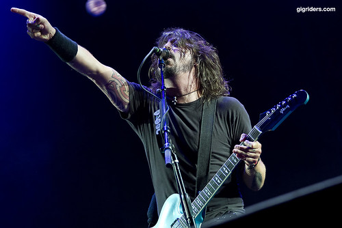 Dave Grohl (Foo Fighters) | by gaisler | gigriders.com