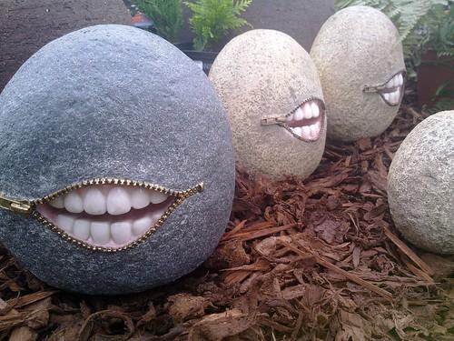 Creepy Garden Ornaments Brigg North Lincolnshire Flickr