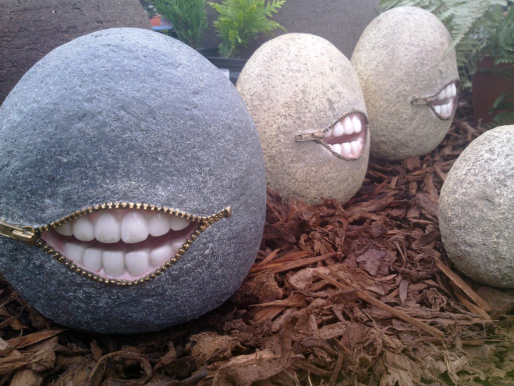 By Man Of Yorkshire Creepy Garden Ornaments. Brigg, North Lincolnshire. |  By Man Of Yorkshire