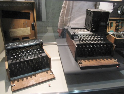 Naval Enigma machines recovered from U-505 | by kitmasterbloke