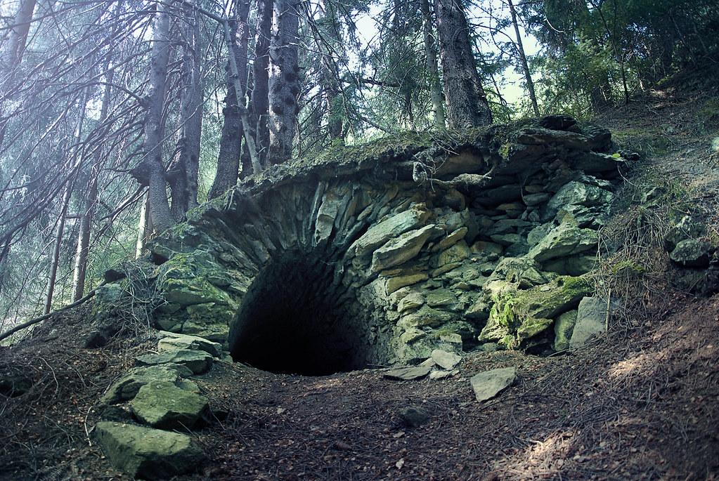 Špania Dolina, drainage adit of Ludovika shaft