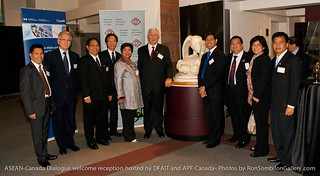 ASEAN-Canada Dialogue welcome reception at the Bill Reid Gallery  hosted by DFAIT-Foreign Affairs and International Trade Canada and Asia Pacific Foundation of  Canada- Photos by Ron Sombilon Gallery-61 | by SOMBILON STUDIOS - www.SOMBILON.com