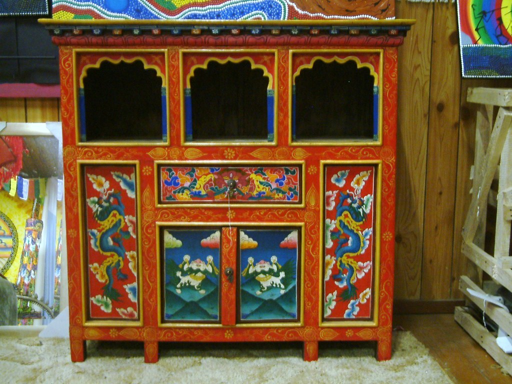 Bon ... Tibetan Furniture   Cupboard / Altar | By Andybear