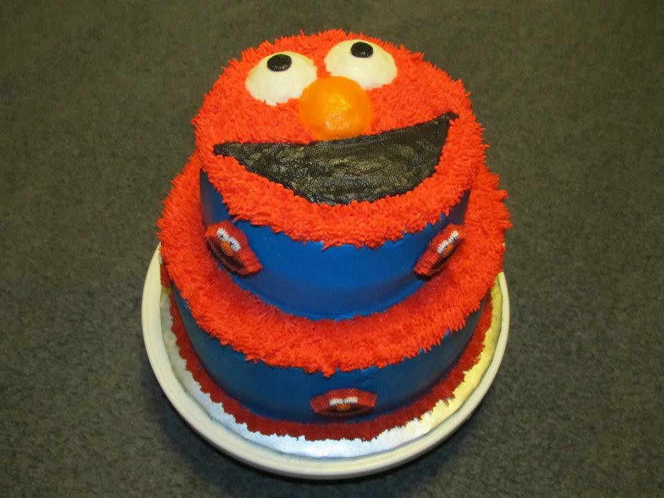 Elmo Cake By Sandy B Of Birthday Cakes 4 Free San Antonio Flickr