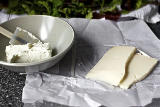 two goat cheeses | by smitten kitchen