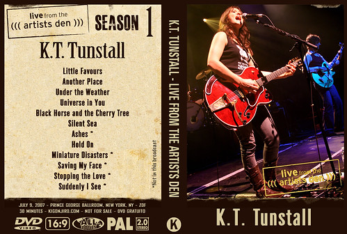 K.T. Tunstall - Live From The Artists Den | by kigonjiro