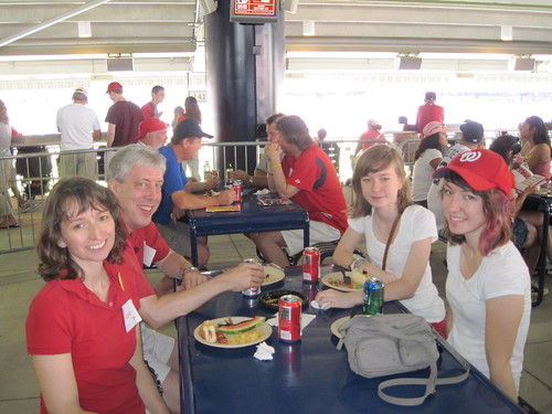 UMBC Day at Nationals Stadium 2012 | by UMBC Alumni