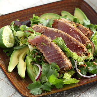 Ahi Tuna Salad | by WillCookForFriends