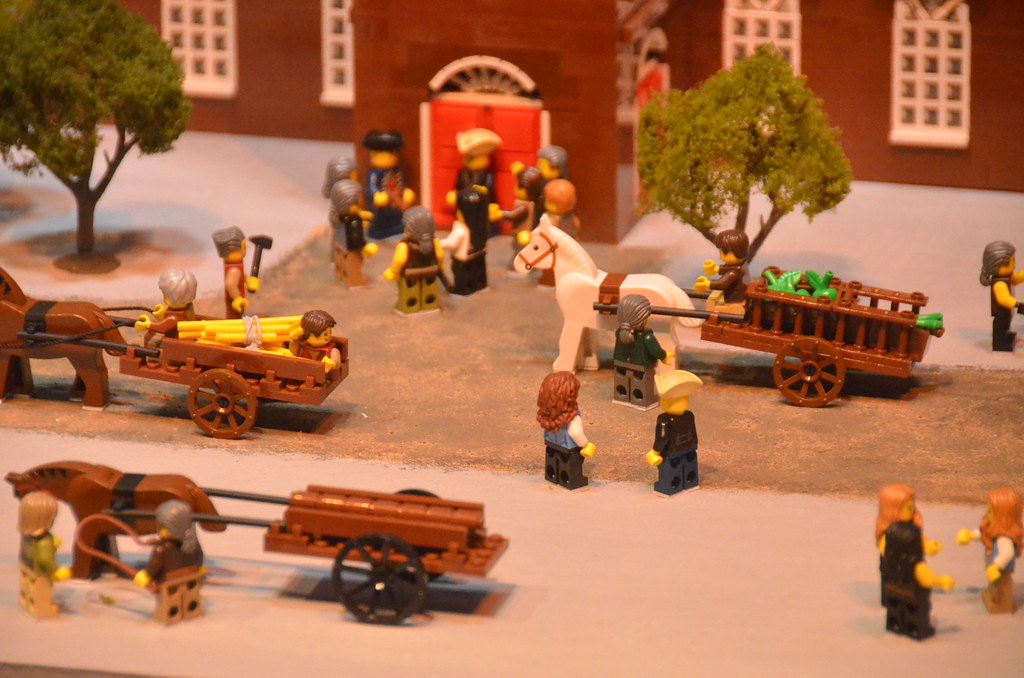 Legoland Somerville (Boston), preview weekend: Colonial sc… | Flickr