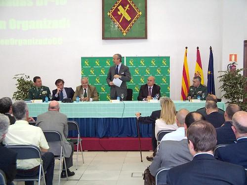 El director general de la guardia civil inaugura las ii jo for Ministerio del interior guardia civil