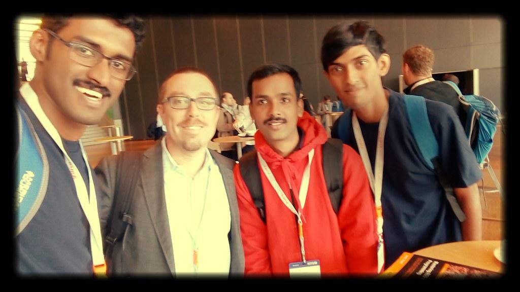 Team Autobots with Prof. Magnus Egerdestdt