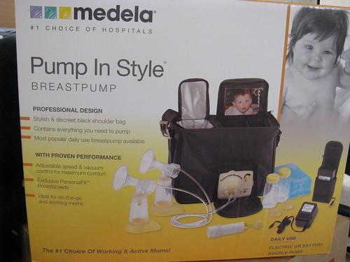 medela pump in style manual