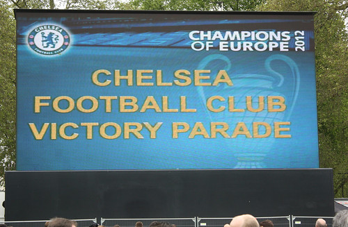 Chelsea Champions League & FA Cup Winners Parade 2012 | by Feggy Art