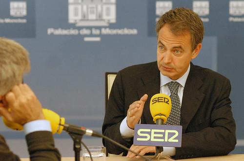 Zapatero cadena ser jose luis rodr guez zapatero for Cadena ser francino