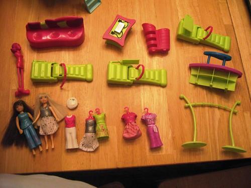 Polly Pocket Dressing Room Game