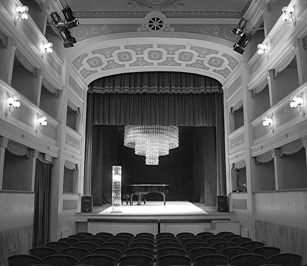 ... TEATRO DEI VARII _ The Smallest Opera House Of Italy | By Luigi Re BACK  IN