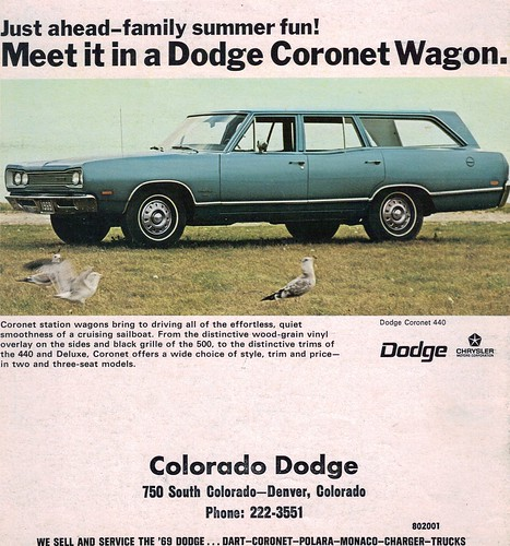 1969 Dodge Coronet 440 Station Wagon