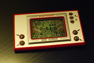 ELECTRONIKA Game&Watch clone Mickey Mouse (Russian market) (front) | by aranarth