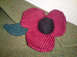 Remembrance Poppy | by North Sea Knitter