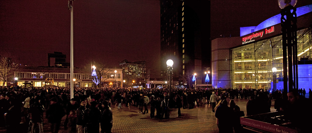 centenary square birmingham new years eve