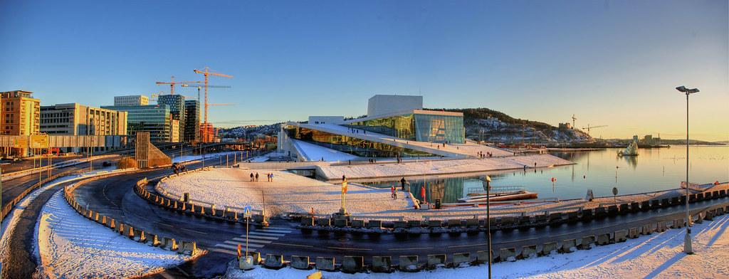 Oslo Opera Panorama - HDR