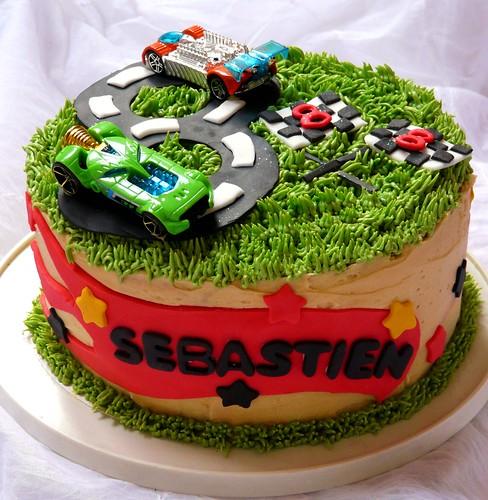 Hot Wheels Cake Decorating Kit