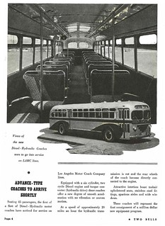 Los Angeles Railway (LARy) Two Bells employee newsmagazine, May, 1940: First diesel buses | by Metro Transportation Library and Archive