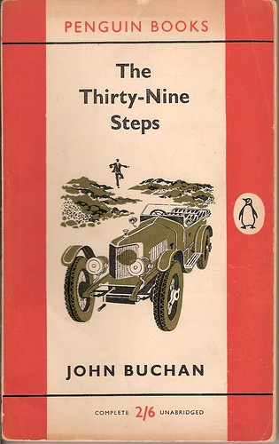 Penguin Book Back Cover : The thirty nine steps penguin book cover this edition