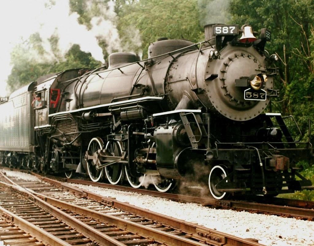... Ex Nickel Plate Road #587 | by Chicago Rail Head