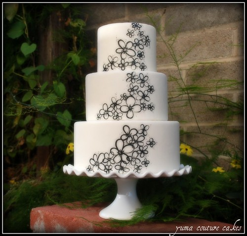 Yuma Couture Cakes - wedding cake | by Yuma Couture Cakes
