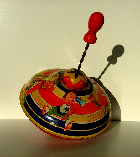 Best Antique Toys : Chad valley toys vintage tin lithographed humming spinni