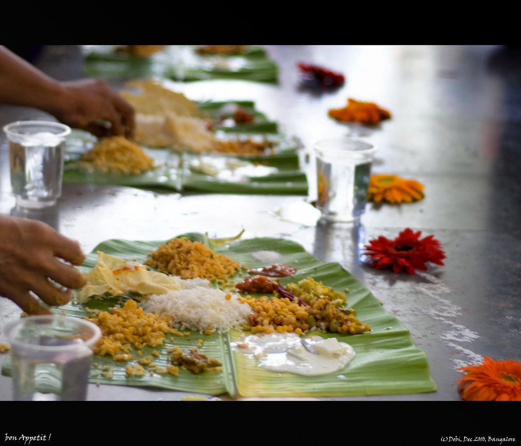 Hindu Wedding - South Indian Food | In South India, the wedd… | Flickr