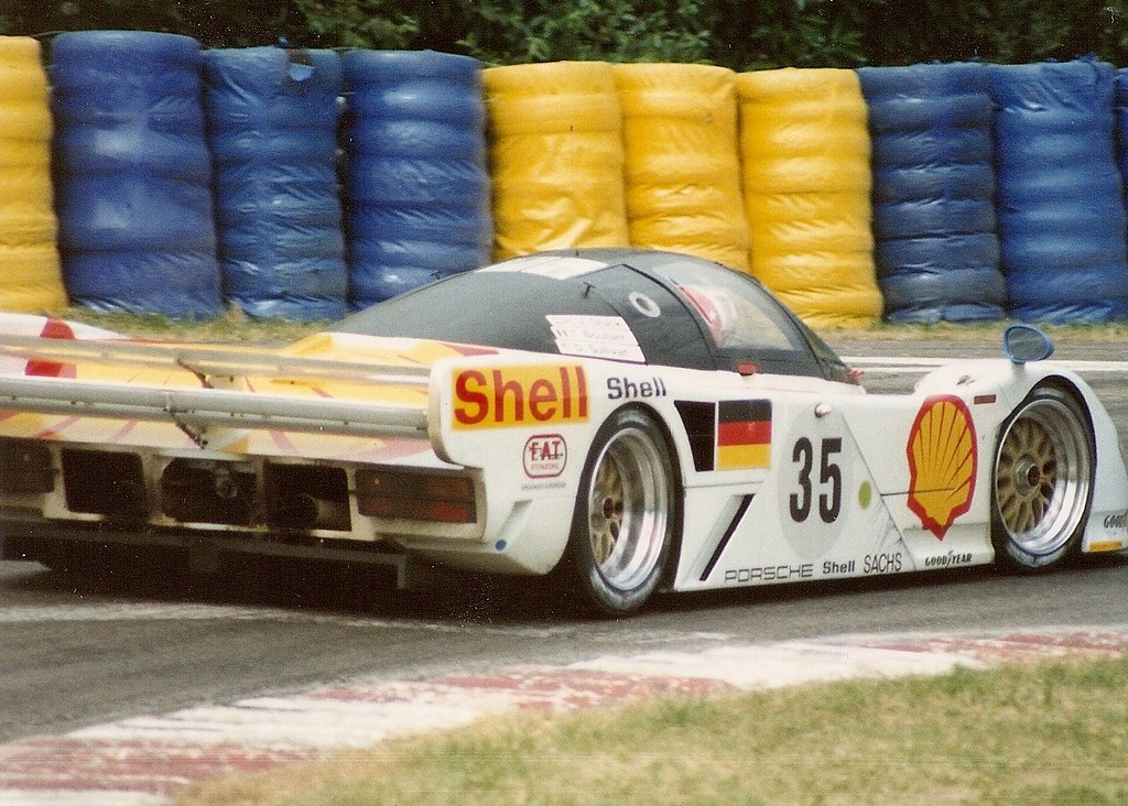 Dauer 962 LM - Le Mans 1994 | The 3rd place for the Hans-Joa… | Flickr