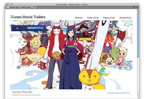 Summer Wars - Movie Trailers - iTunes | trailers.apple.com ...