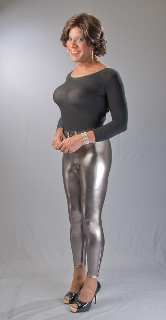 mature leggings Tight