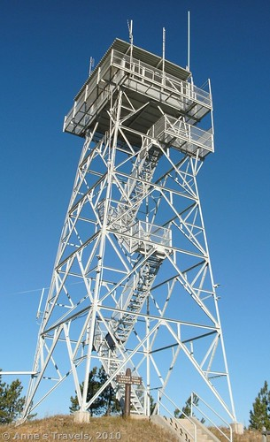 Warren Peak Fire Tower, Wyoming