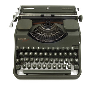 Hermes Media typewriter | by shordzi