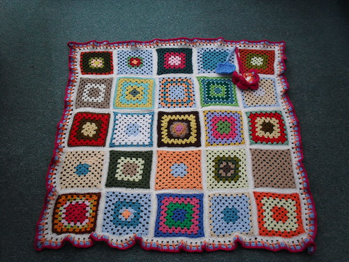 Thank you so much for the gorgeous Squares!  'Please add note!' Thank You! | by MRS TWINS/SIBOL 'Sunshine International Blankets