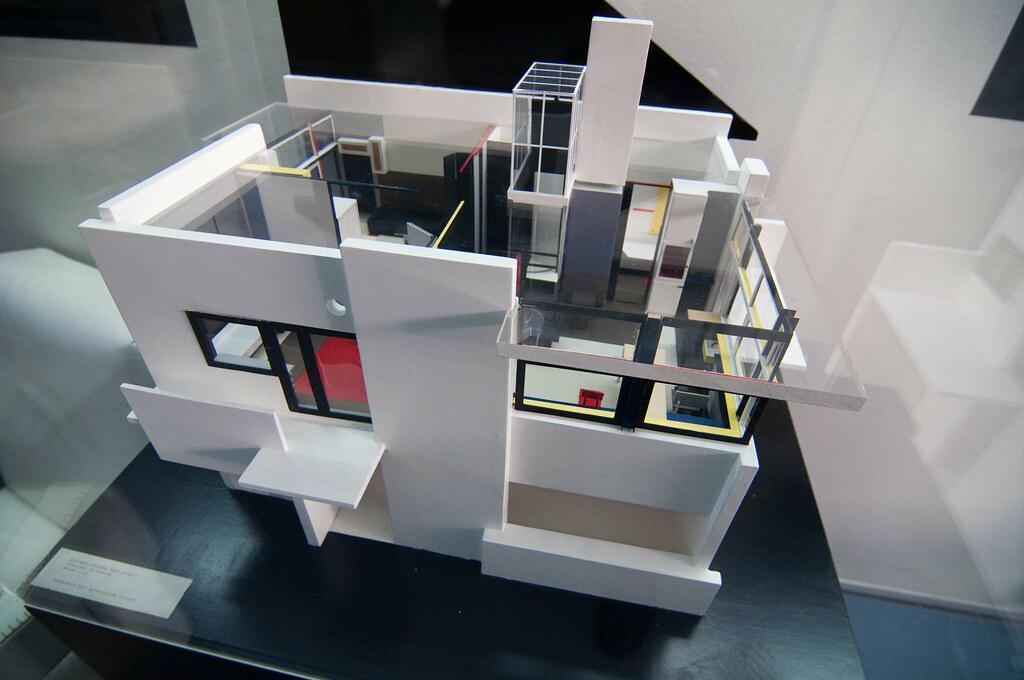 Schroder house sketchup model