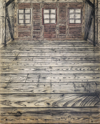 Kiefer Anselm 1945 1972 Wooden Room Museum Of Mode