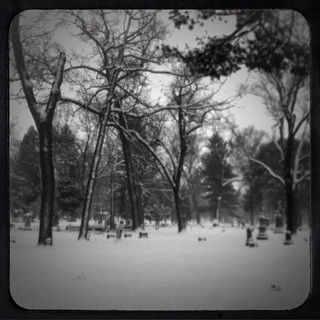 Cemetery in Black & White | by farlane