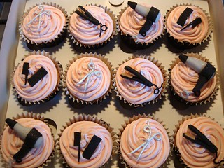 hairdresser cupcakes | by Cupcake Occasions uk