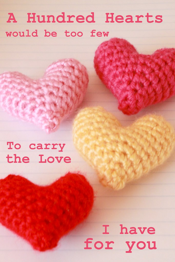 Crochet Heart Pattern Blogged Easymakesmehappyspotc Flickr