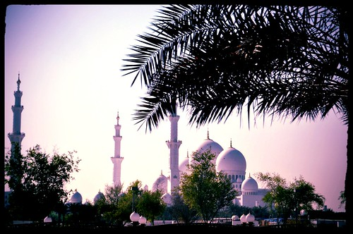 Grand Mosque Abu Dhabi | by https://www.facebook.com/ArrrrtDesignPhotography