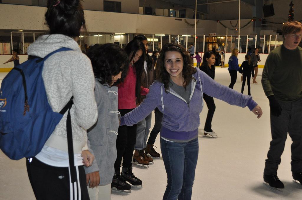Ice Skater Espejo