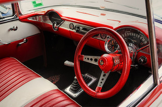 1956 Chevrolet Bel Air Interior | by Michelle ~ Blacky ~ Champaz's Captures....